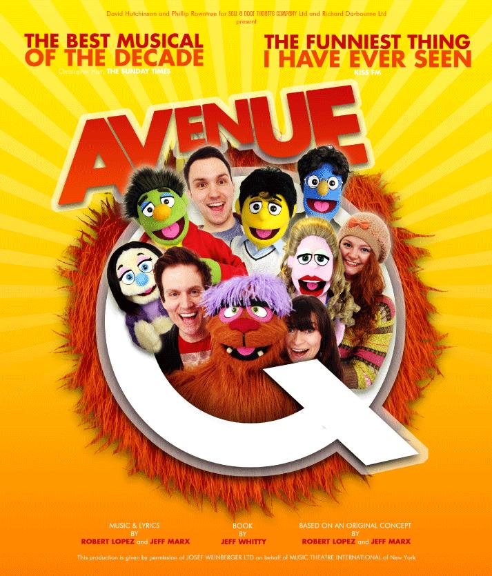 Avenue Q - Main Production Image
