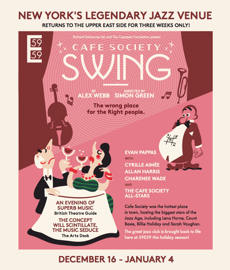 Cafe Society Swing - Production Poster