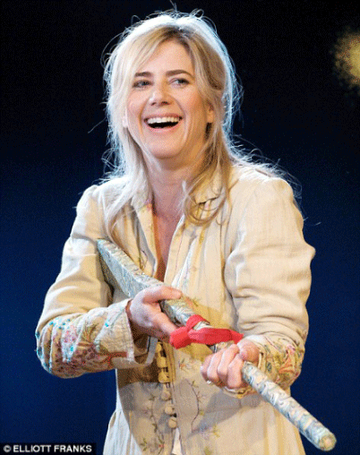 Little Eyolf - Imogen Stubbs, During Production.