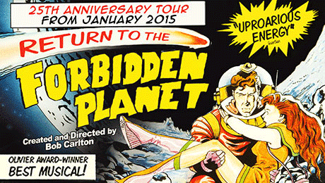 Return to the Forbidden Planet - Main Production Image
